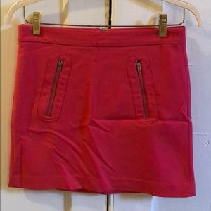 Pink Gap sz 2 mini skirt